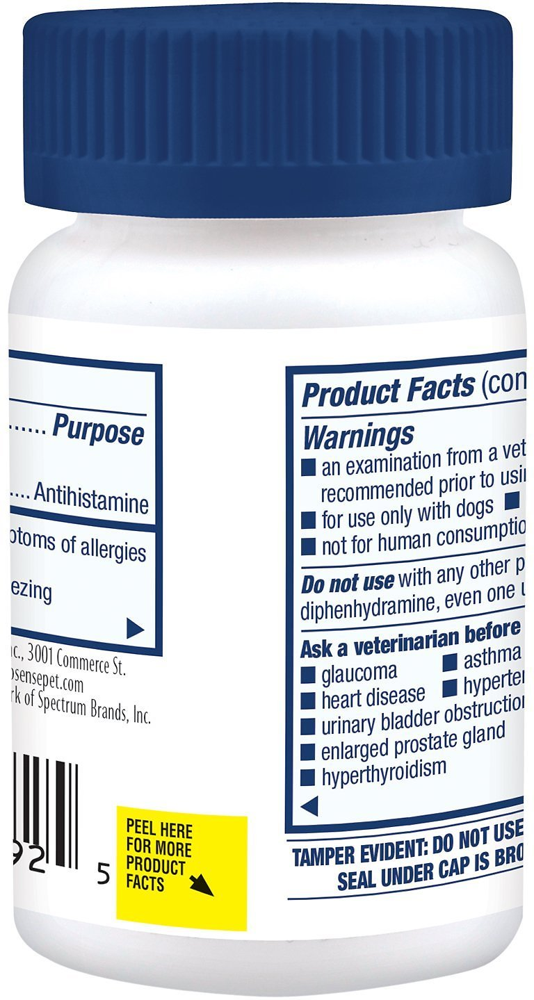 Pro-Sense Dog Itch & Allergy Solutions Tablets, 100 count