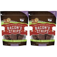 Pet 'n Shape Bacon'd Strips with Duck & Bacon Dog Treats, 6-oz, 2 pack