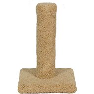 Molly and Friends 17-in Carpeted Cat Scratching Post, Beige