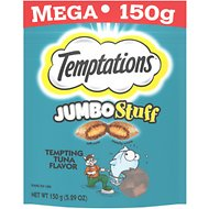 Temptations Jumbo Stuff Tempting Tuna Flavor Cat Treats, 5.3-oz bag