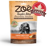 Zoe Tender Bites Pumpkin & Ginger Dog Treats, 5.3-oz bag