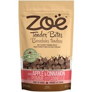 Zoe Tender Bites Apple & Cinnamon Dog Treats, 5.3-oz bag