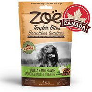 Zoe Tender Bites Vanilla & Mint Dog Treats, 5.3-oz bag