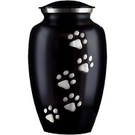 Best Friend Services Classic Paws Series Vertical Print Dog & Cat Urn