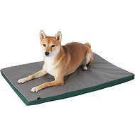 FurHaven Kennel Pad Dog & Cat Bed, Green/Gray, Medium