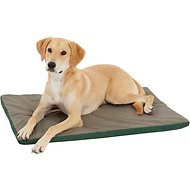 FurHaven Kennel Pad Dog & Cat Bed, Green/Gray, Large