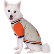 Blueberry Pet Fleece Lined Weekender Dog Sweater, Back Length 12""
