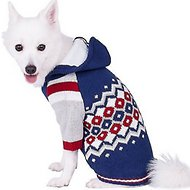 Blueberry Pet Argyle Pattern Dog Sweater, 14-in