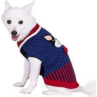 Blueberry Pet Fancy French Bulldog Dog Sweater, Back Length 12""