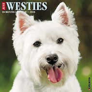 Just Westies 2018 Wall Calendar