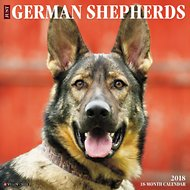 Just German Shepherds 2018 Wall Calendar