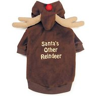 Casual Canine Reindeer Dog Hoodie, Large