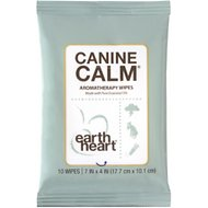 Earth Heart Canine Calm Aromatherapy Wipes, 10 count