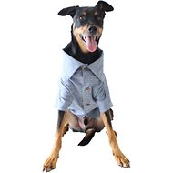 Dog Threads Chambray Dog Shirt, X-Small