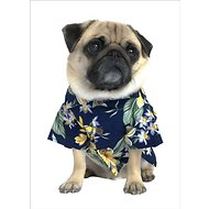Dog Threads Aloha BBQ Dog Shirt, Medium