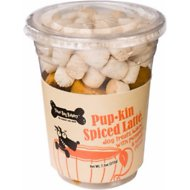 Three Dog Bakery Pup-kin Spiced Latte Dog Treats, 7.5-oz cup