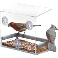 PetFusion Tranquility Window Bird Feeder