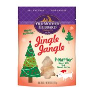 Old Mother Hubbard Jingle Jangle P-Nuttier Dog Treats, 6-oz bag