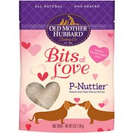 Old Mother Hubbard Bits of Love P-Nuttier Dog Treats, 6-oz bag