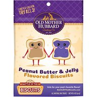 Old Mother Hubbard Limited Edition Peanut Butter & Jelly Dog Treats, 6-oz bag