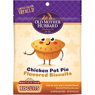 Old Mother Hubbard Limited Edition Chicken Pot Pie Dog Treats, 6-oz bag