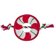 Outward Hound Fire Biterz Rope Wreath Dog Toy