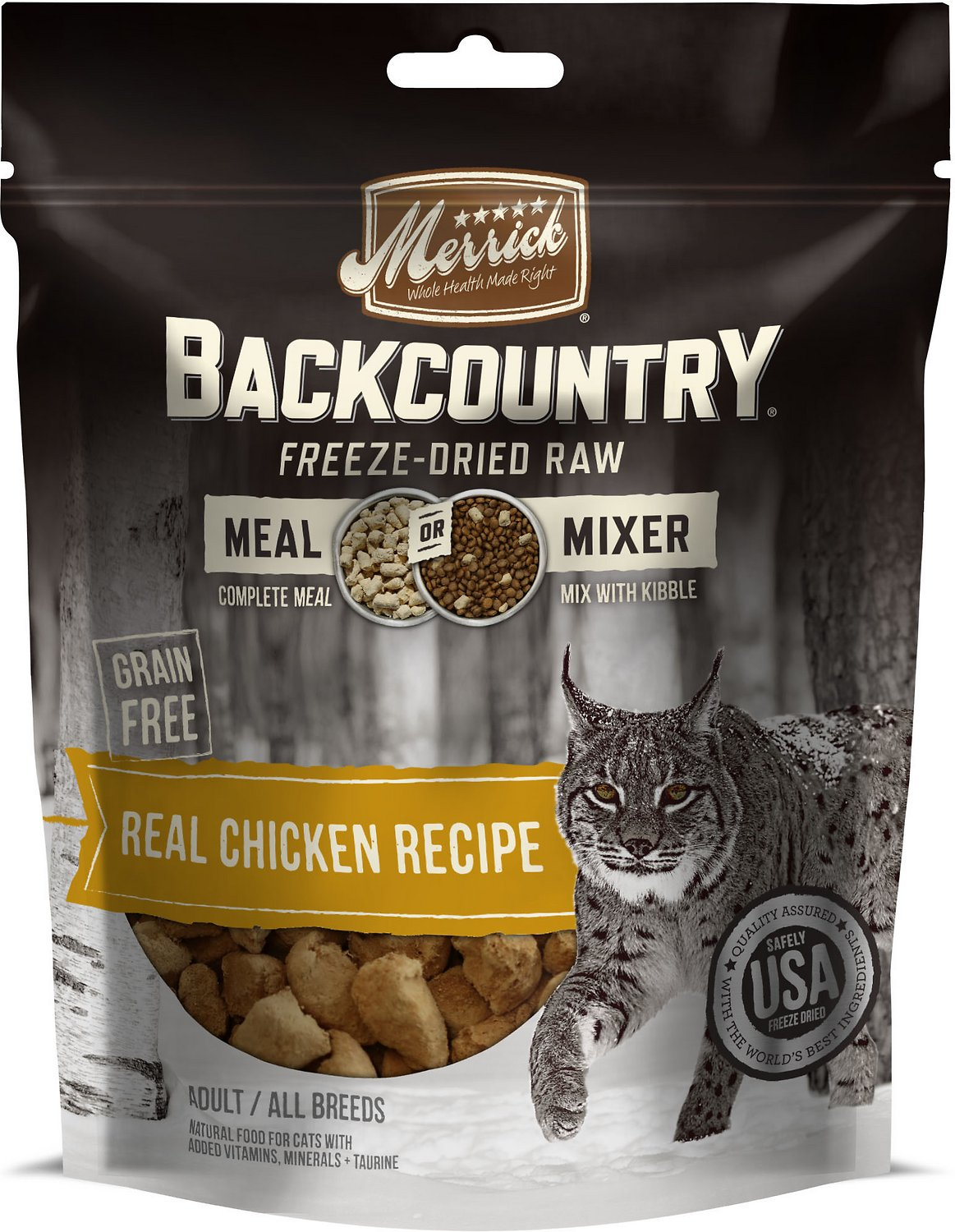 Merrick backcountry grain free meal mixer real chicken recipe freeze video forumfinder Choice Image