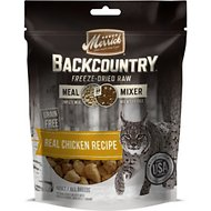 Merrick Backcountry Grain-Free Meal Mixer Real Chicken Recipe Freeze-Dried Raw Cat Food, 4-oz bag