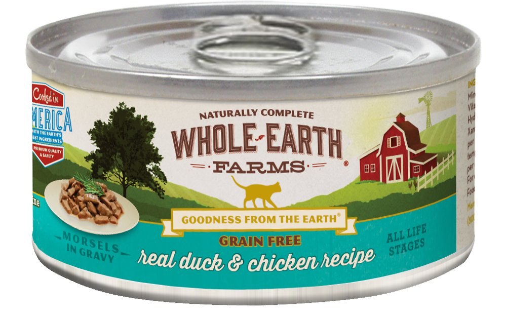 Whole Earth Farms Grain Free Canned Cat Food Reviews