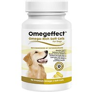 Finest for Pets Omegeffect Premium Omega-3 Soft Gels Dog Supplement, 90 count
