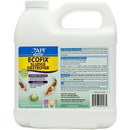API Pond Ecofix Sludge Destroyer Pond Water Clarifier & Sludge Remover, 64-oz bottle
