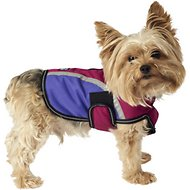 PetRageous Designs Calgary Dog Coat, Magenta, X-Small