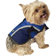 PetRageous Designs Calgary Dog Coat, Navy, X-Small
