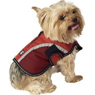 PetRageous Designs Calgary Dog Coat, Red, X-Small