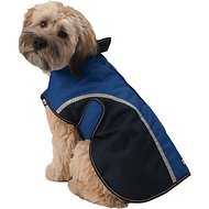 PetRageous Designs Calgary Dog Coat, Navy, Large