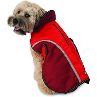 PetRageous Designs Calgary Dog Coat, Red, Large