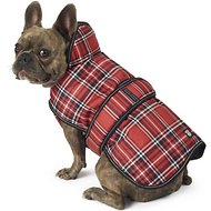 PetRageous Designs Kodiak Dog Coat, Red Plaid, Medium