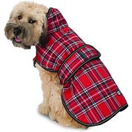 PetRageous Kodiak Dog Coat, Large, Red Plaid