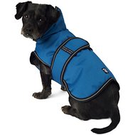 PetRageous Designs Juneau Dog Coat, Teal, Small