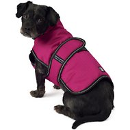 Petrageous Designs Juneau Dog Coat, Small, Magenta