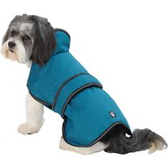 PetRageous Designs Juneau Dog Coat, Teal, Medium