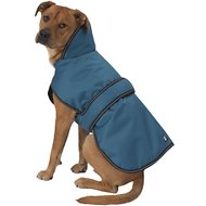 PetRageous Juneau Dog Coat, X-Large, Teal