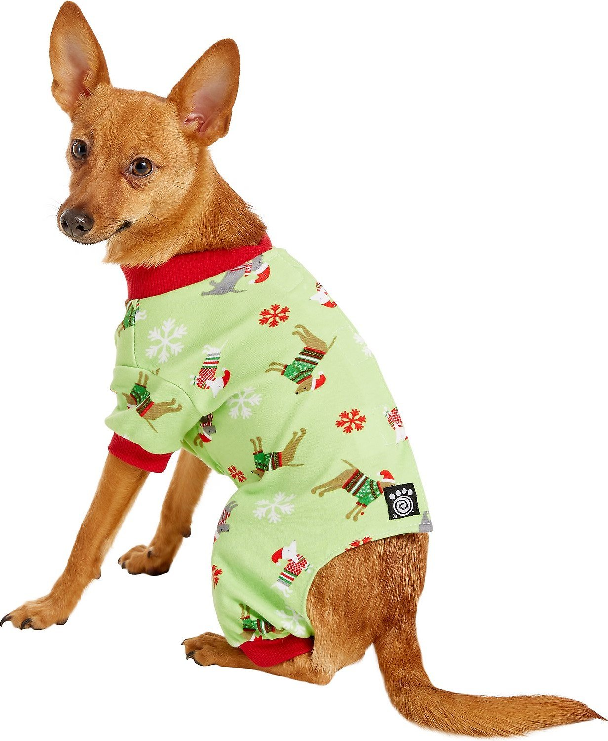 Christmas Pajamas For Dog.Petrageous Designs Holiday Dog Pajamas X Small Green