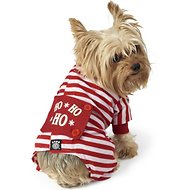 Petrageous Designs Ho Ho Ho Dog Pajamas, X-Small