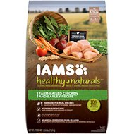 Iams Healthy Naturals Chicken & Barley Recipe Adult Dry Dog Food, 25.6-lb bag