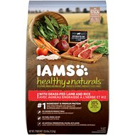 Iams Healthy Naturals with Lamb & Rice Adult Dry Dog Food, 25.6-lb bag