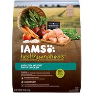 Iams Healthy Naturals Weight Management with Chicken Adult Dry Dog Food, 25.6-lb bag