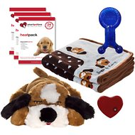 Smart Pet Love New Puppy Starter Kit, Brown & White