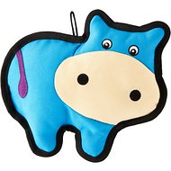 Smart Pet Love Tender Tuff Simple Blue Cow Dog Toy