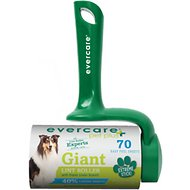 Evercare Pet Plus Giant Extreme Stick T-Handle Pet Lint Roller, 70 sheets